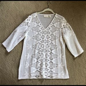 Chico's Crochet Tunic